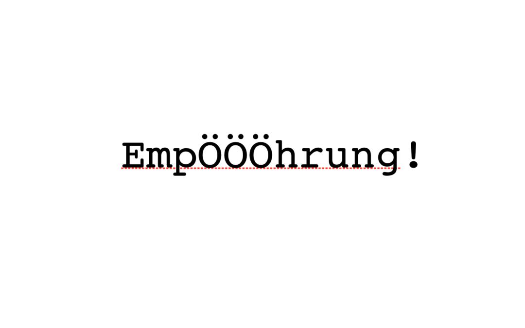Tatort #allesdichtmachen, Folge 2: Empörung